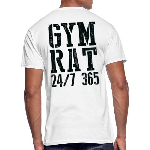 Gym Rat - Men's 50/50 T-Shirt