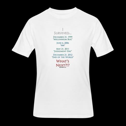 Survived... Whats Next? - Men's 50/50 T-Shirt