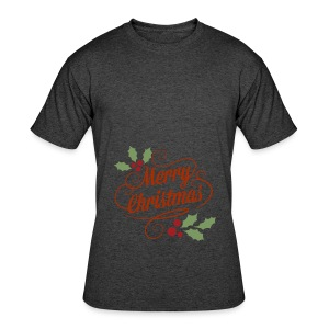 Merry Christmas - Men's 50/50 T-Shirt