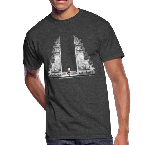 Temple on Bali - Men's 50/50 T-Shirt