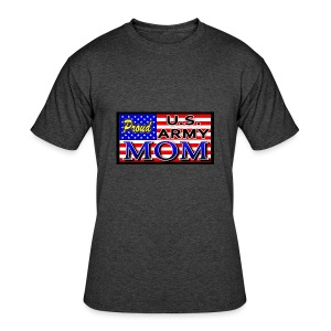 Proud Army mom - Men's 50/50 T-Shirt