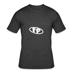 Secondary FRESHPOPCORN Logo - Men's 50/50 T-Shirt