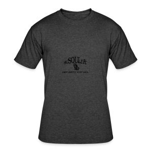 HUSOULER | I GOT HUSTLE IN MY SOUL - Men's 50/50 T-Shirt