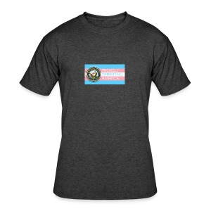 Transgender Navy - Men's 50/50 T-Shirt