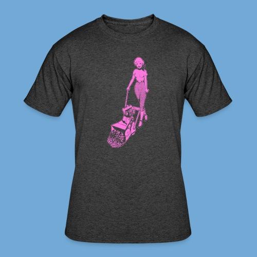 Roto-Hoe pink. - Men's 50/50 T-Shirt