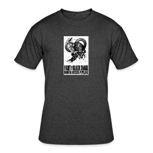 Fight the Black Snake NODAPL - Men's 50/50 T-Shirt
