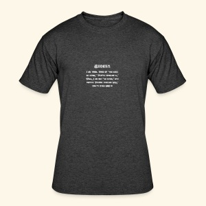 MS Broken Grey Text - Men's 50/50 T-Shirt