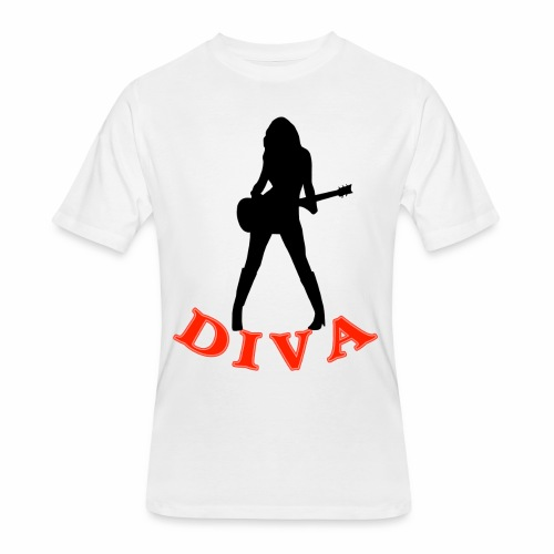 Rock Star Diva - Men's 50/50 T-Shirt