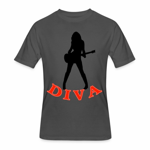 Rock Star Diva - Men's 50/50 T-Shirt