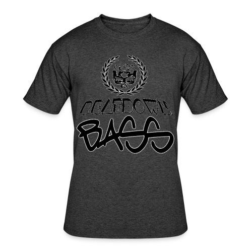 BEATDOWN BLACK LOGO - Men's 50/50 T-Shirt