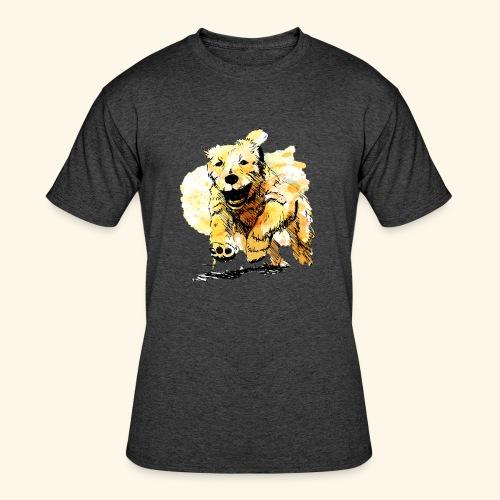 oil dog - Men's 50/50 T-Shirt