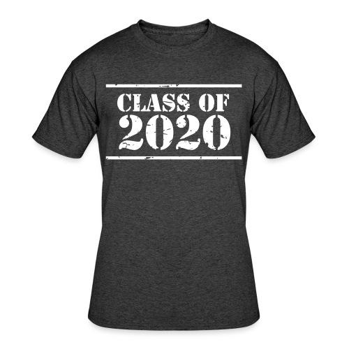 Class of 2020 stencil - Men's 50/50 T-Shirt