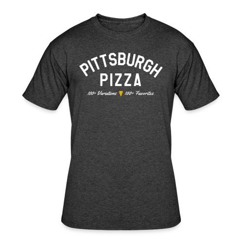 Pittsburgh Pizza - Men's 50/50 T-Shirt