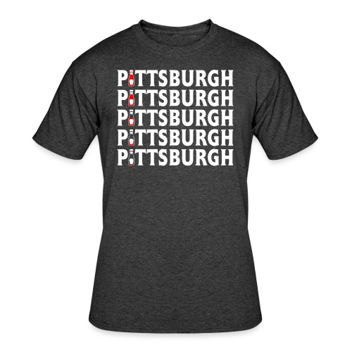 Ketch Up in PGH - Men's 50/50 T-Shirt