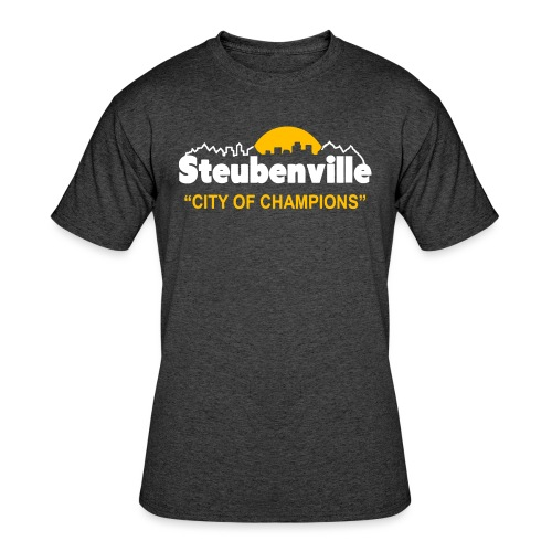 Steubenville - City of Champions - Men's 50/50 T-Shirt