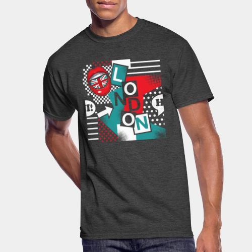 london pop art - Men's 50/50 T-Shirt