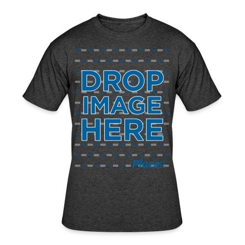 DROP IMAGE HERE - Placeit Design - Men's 50/50 T-Shirt