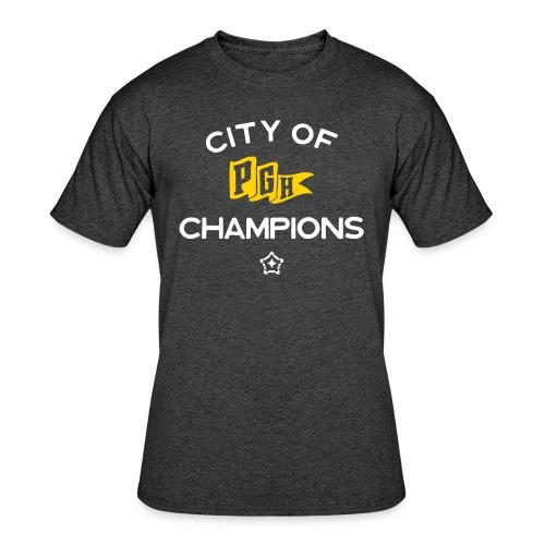 City of Champions - Men's 50/50 T-Shirt