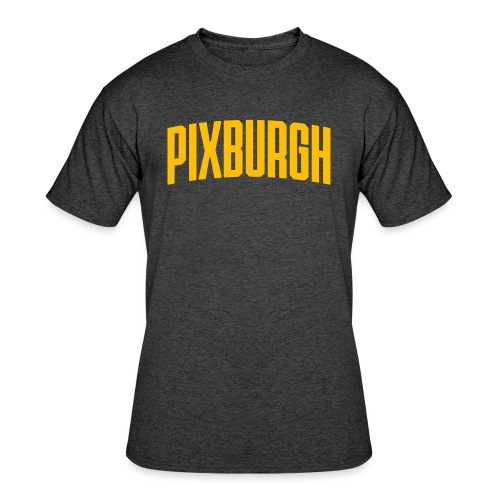 Pixburgh - Men's 50/50 T-Shirt