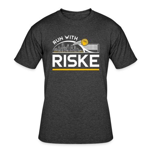 Run With Riske - Men's 50/50 T-Shirt