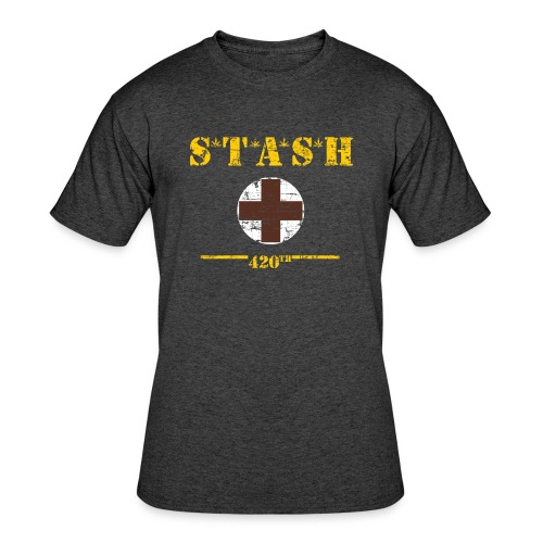 STASH-Final - Men's 50/50 T-Shirt