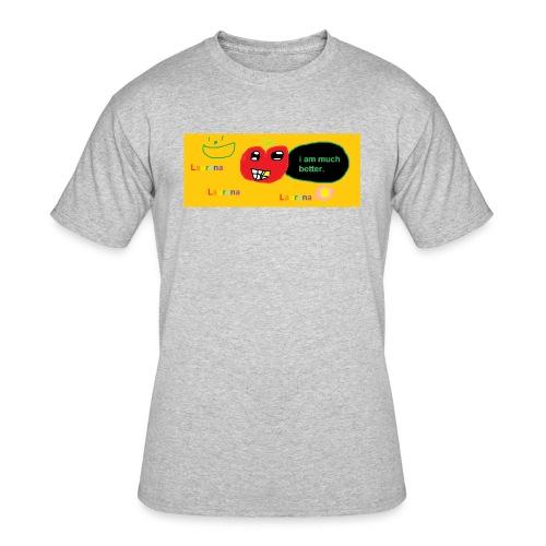 pechy vs apple - Men's 50/50 T-Shirt