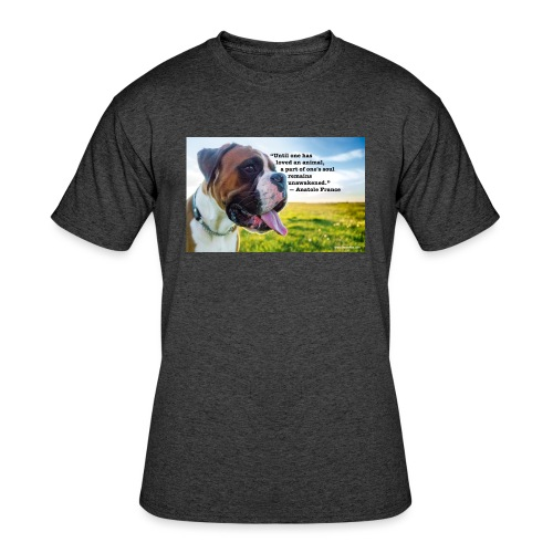 Until one has loved an animal - Men's 50/50 T-Shirt