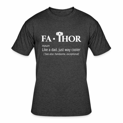 Fathor - Men's 50/50 T-Shirt