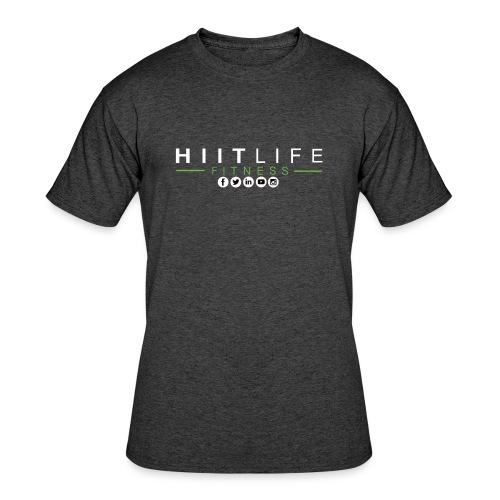 hlfsocialwht - Men's 50/50 T-Shirt