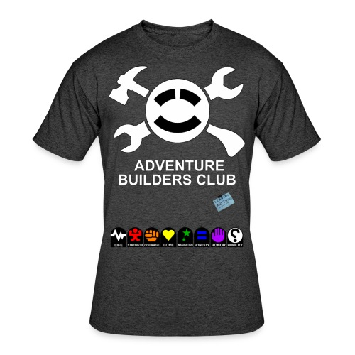 Adventure Builders Club - Men's 50/50 T-Shirt