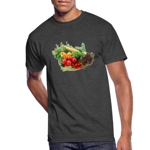 vegetable fruits - Men's 50/50 T-Shirt
