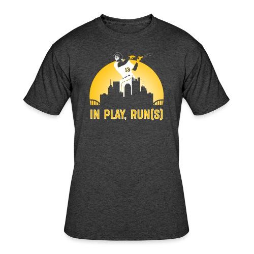 In Play, Run(s) - Men's 50/50 T-Shirt