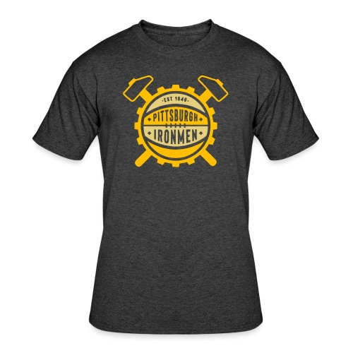 Pittsburgh Ironmen - Men's 50/50 T-Shirt