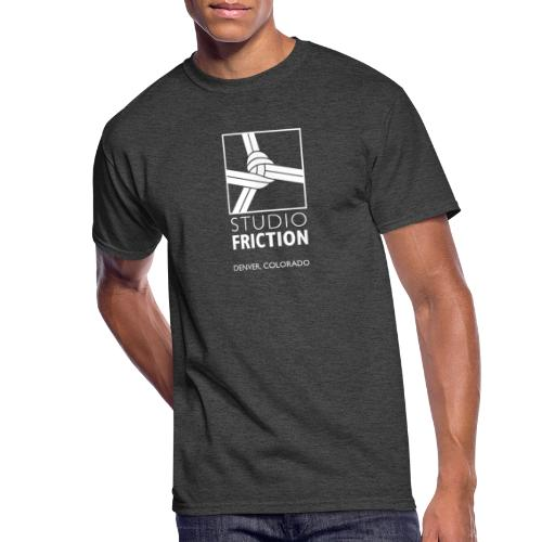 Studio Friction White - Men's 50/50 T-Shirt