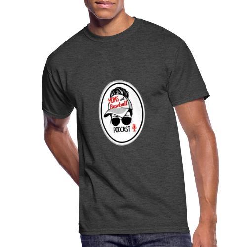 Moms and Baseball - Men's 50/50 T-Shirt