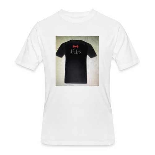 Mr and Mrs t-shirt - Men's 50/50 T-Shirt