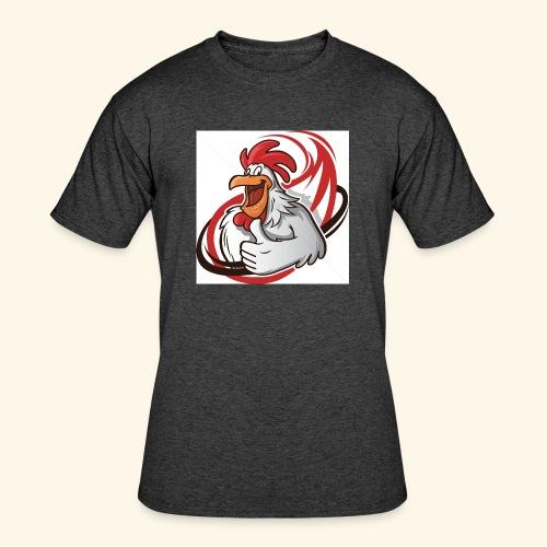 cartoon chicken with a thumbs up 1514989 - Men's 50/50 T-Shirt