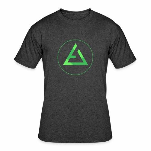 crypto logo branding - Men's 50/50 T-Shirt