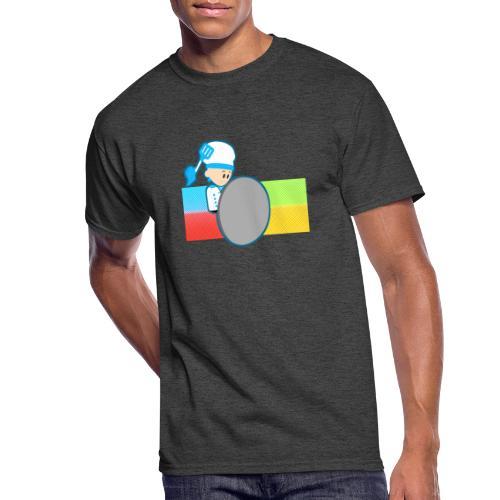 Muffin Fight - Blue Shirt - Men's 50/50 T-Shirt