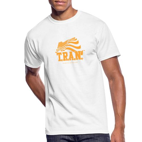 TRAN Gold Club - Men's 50/50 T-Shirt