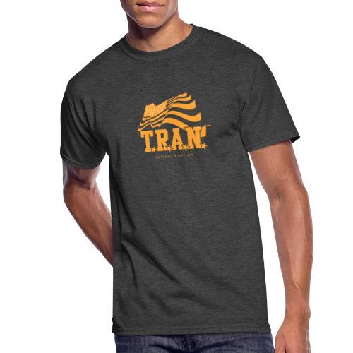 TRAN Gold Club - Men's 50/50 T-Shirt