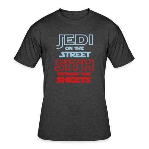 Jedi Sith Awesome Shirt - Men's 50/50 T-Shirt