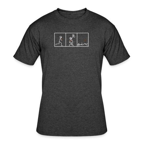 BUTTFUMBLE 6 (With Cartoon) - Men's 50/50 T-Shirt