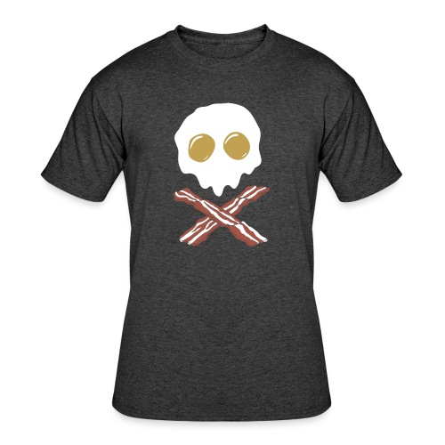 Breakfast Skull - Men's 50/50 T-Shirt