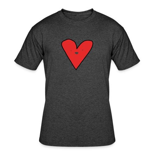 Heart - Men's 50/50 T-Shirt