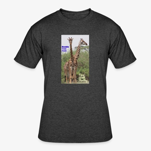 Two Headed Giraffe - Men's 50/50 T-Shirt
