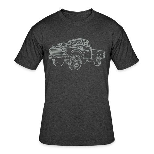 gnarlyTruck - Men's 50/50 T-Shirt