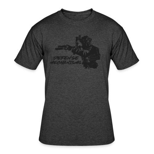 Defense Mechanisms: On Target - Men's 50/50 T-Shirt