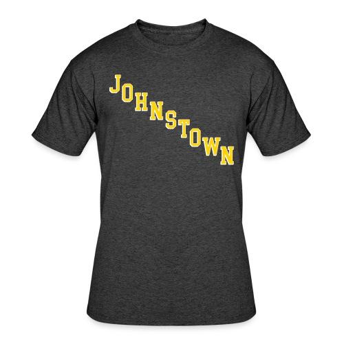 Johnstown Diagonal - Men's 50/50 T-Shirt