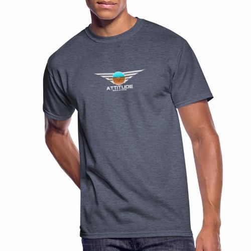 Attitude Double Sided - Men's 50/50 T-Shirt